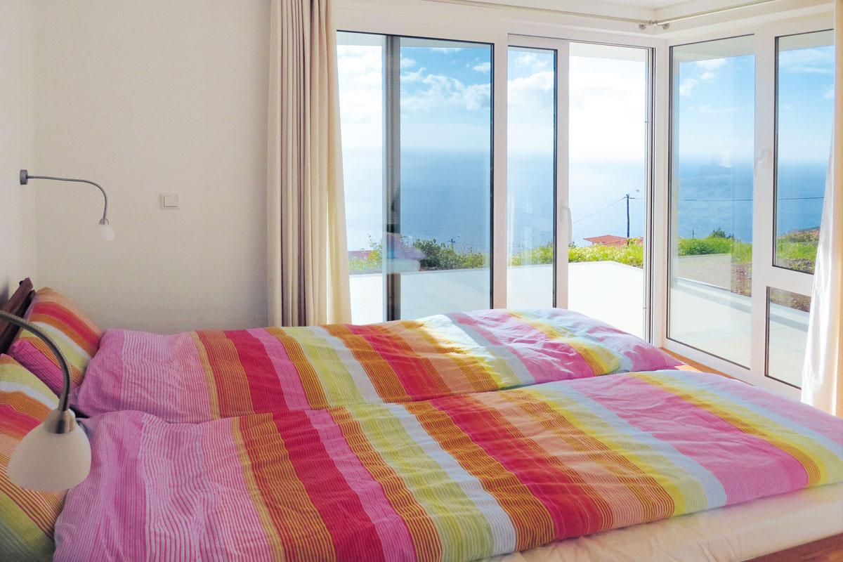 Mar e mais Ferienhaus Madeira Schlafzimmer 1