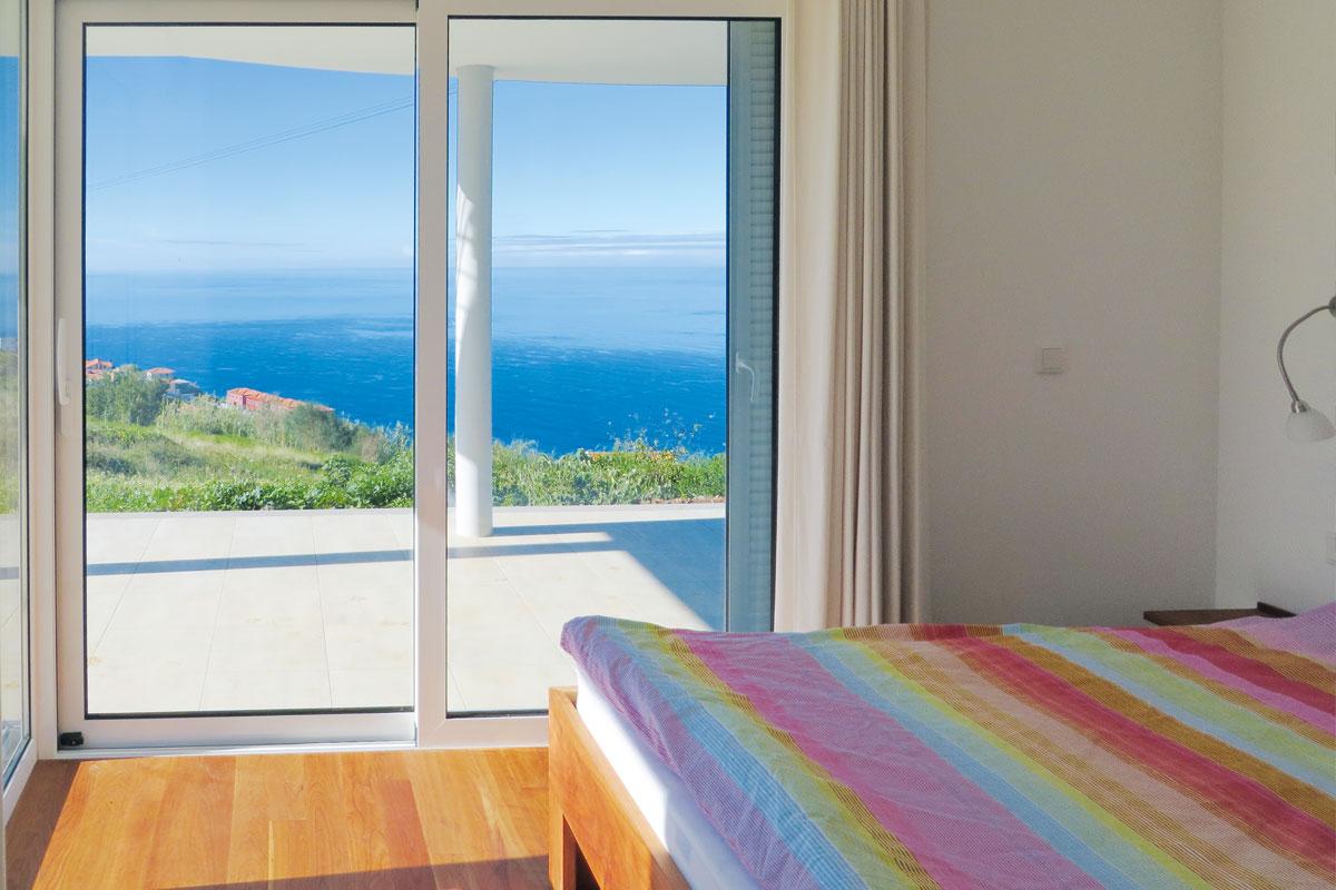 Mar e mais Ferienhaus Madeira Schlafzimmer 2 maremais