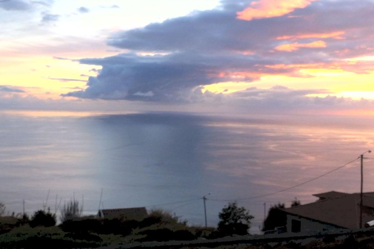 """Ausblick von der Dachterrasse - Ferienhaus """"Mar e mais"""" Madeira maremais"""